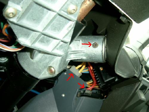 Contactslot on 2001 Volvo S60 Immobilizer